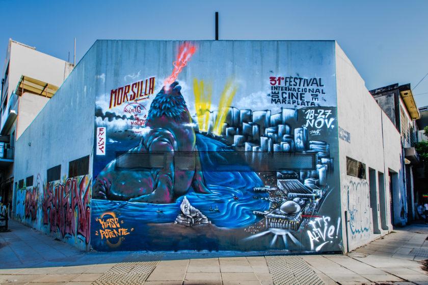 Ganamos el concurso de Graffiti y Muralismo